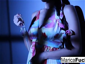 chinese pornographic star Marica gets naked