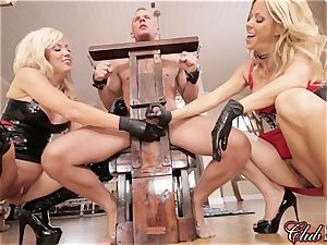 spunky Ms. Alexis Fawx dominates her new enslaved