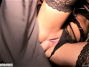 Romi Rain - epic super-steamy inexperienced porn in the street
