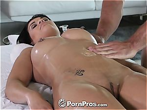 PornPros - adorable Gracie Dai gets a knead down massage