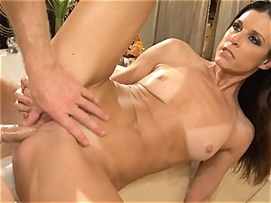 mummy India Summers gets analled in the shower