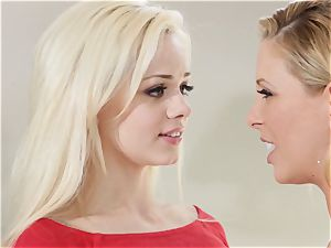 stash and squeak Sn 1 three-way with Cherie Deville and Elsa Jean