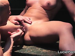 unexperienced sapphic damsels get their tasty fuckboxes slurped and smashed