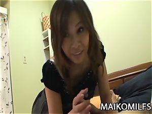 Machiko Nishizaki - wild JAV wife boinked By A Stranger