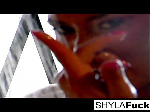 A infrequent erotic Solo By Shyla