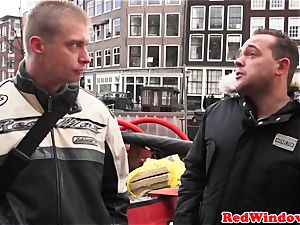 dickblowing amsterdam prostitute nutted on