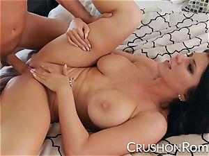 crush nymphs - Romi Rain luvs a great rock hard boning