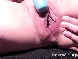 dripping raw vulva Selfie Bating to numerous orgasms
