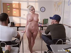 Christie Stevens arched over and drilled doggy-style