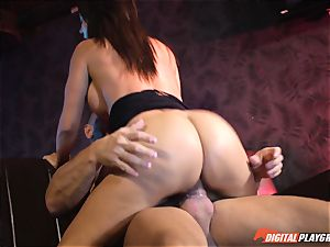 Franceska Jaimes gets rectal jammed by Nacho Vidal and his immense man rod