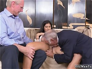 Mature seduces youthfull girl Going South Of The Border