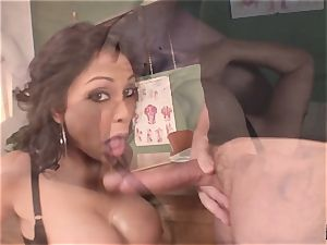 yelling and bellowing Priya Rai popped in the puss by headteacher