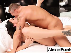 super-steamy motel room nailing with Alison and Marcus