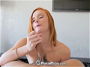 ginger-haired Alex Tanner vagina screwed