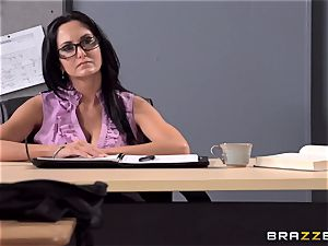 buxom educator Ava Addams is porked by her college girl