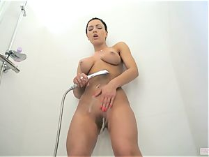 stunner demon in sizzling douche and fuck-a-thon