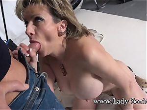 camera guy Face plows Mature girl Sonia