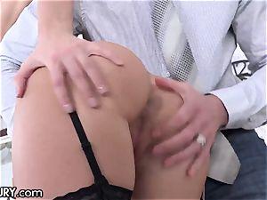 21Sextury teaching Hazel Dew's Gape to Take meaty shafts